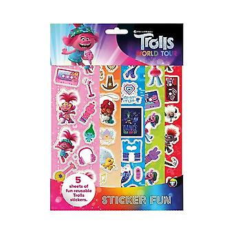 Trolls World Tour Sticker Fun Set