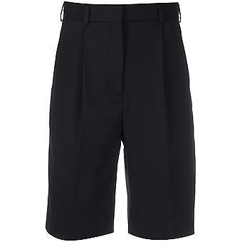 Acne Studios Ae0018900 Women's Black Cotton Shorts