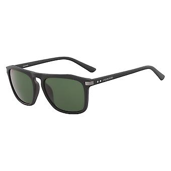 Calvin Klein CK18537S 001 Matte Black/Green Sunglasses