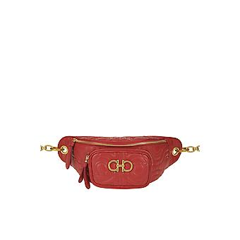 Salvatore Ferragamo Ezgl044029 Kvinder's Rød læderpose