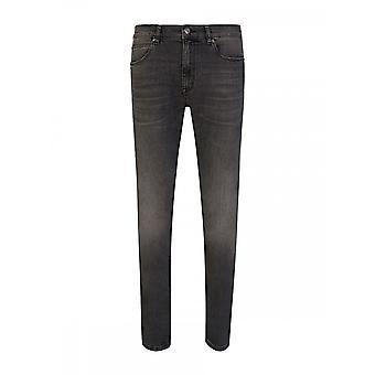 Hugo Boss Hugo 734 Extra Slim Fit Graue Jeans