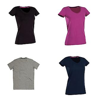 Stedman Womens/Ladies Claire V Neck Tee
