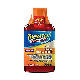 Theraflu expressmax daytime severe cold and cough syrup, 8.3 oz