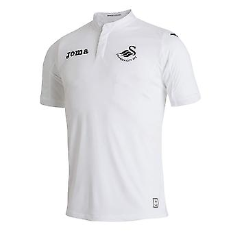 Swansea City FC Official Football Gift Boys Youth Home Kit Shirt