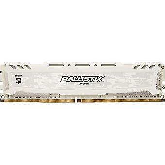 Crucial Ballistix Sport LT BLS16G4D30AESC 3000 MHz, DDR4, DRAM, Fixed Computer Gaming Memory, 16 GB, CL15, White