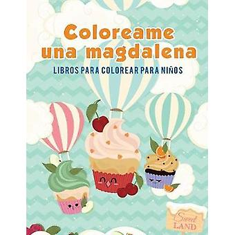 Coloreame una magdalena Libros para colorear para nios by Kids & Coloring Pages for