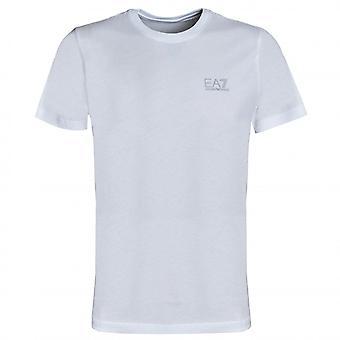 EA7 Men's White T-Shirt