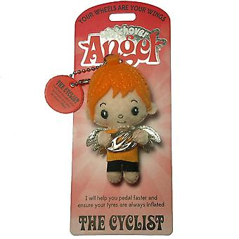 Watchover Angels The Cyclist Angel Keyring