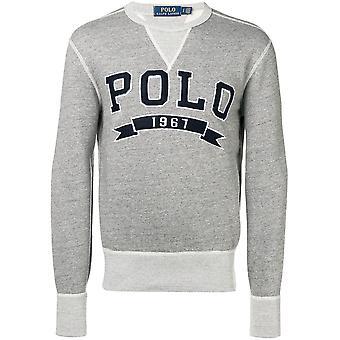 Ralph Lauren Ezcr012006 Mænd's Grå bomuldsweatshirt