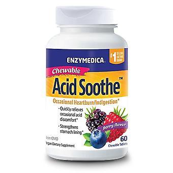 Enzymedica Acid Soothe Chewable Tabs 60 (27006)