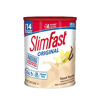 (2 Pack) SlimFast Original French Vanilla Shake Mix (12.83 oz / 364 g)