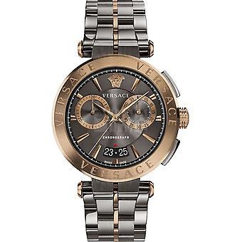 Versace - Montre-bracelet - Hommes - Quartz - Chronographe - Date - Aion VE1D00619