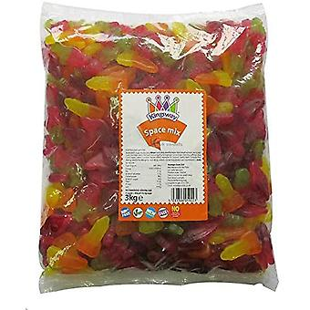 Kingsway Space Mix Sweet Jelly Gums 3kg