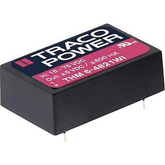 TracoPower THM 6-2415WI DC/DC-Wandler (Druck) 24 V DC 24 V DC 250 mA 6 W Nr. der Ausgänge: 1 x