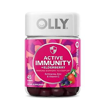 Olly Active Immunity - Elderberry Support Gummies - Berry Brave