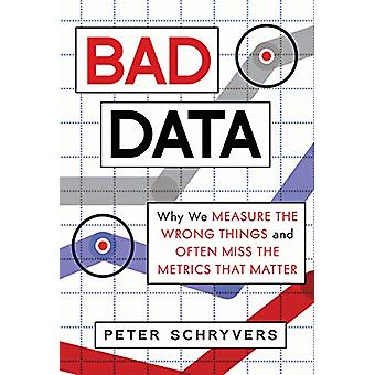 Bad Data - Why We Measure the Wrong Things and Often Miss the Metrics