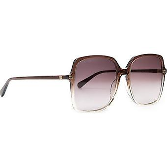 Gucci Sunglasses Square Oversized Sunglasses