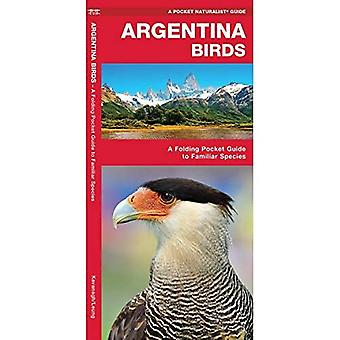 Argentina Birds: A Folding Pocket Guide to Familiar Species (Wildlife and Nature Identification)