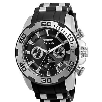 Invicta  Pro Diver 22311  Silicone, Stainless Steel Chronograph  Watch