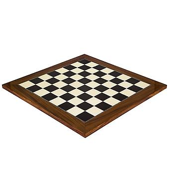 19.7 Inch Black Anegre and Palisander Deluxe Chess Board