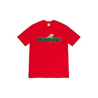 Supreme Eidechse T-Shirt rot - Kleidung