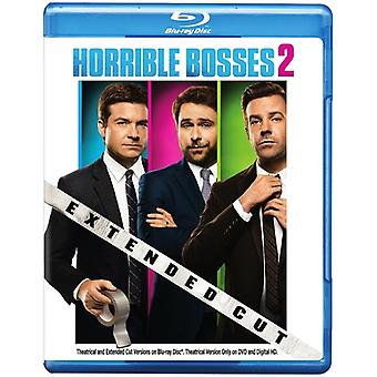 Horrible Bosses 2: Extended Cut [BLU-RAY] USA import