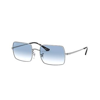 Gafas de sol Ray-Ban Rectangle RB1969 9149/3F Silver/Clear Gradient Blue