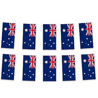 Australia Bunting 5m Polyester Fabric Football Rugby Sport Country