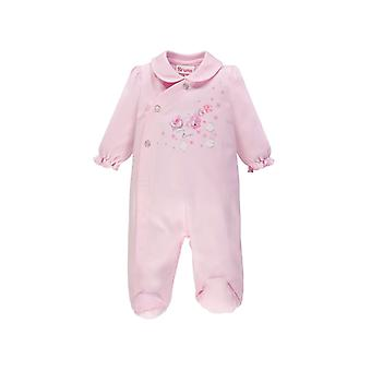 Brums Pink Romper Front Opening