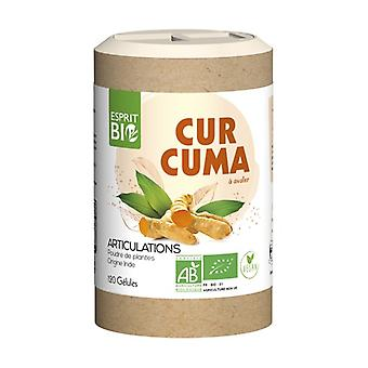 Organic turmeric 120 capsules