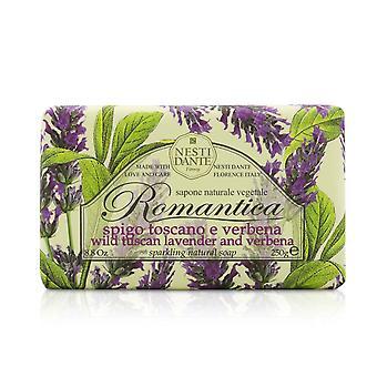 Romantica funkelnde natürliche Seife wild toskanischen Lavendel & Verbena 189800 250g/8,8 Unzen