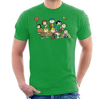T-shirt uomo arachidi Baseball gruppo
