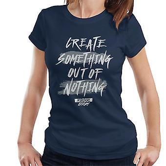 London Banter criar algo fora do nada mulheres ' s T-shirt