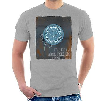 The Crystal Maze Good Feeling Rust Panel Men's T-Shirt