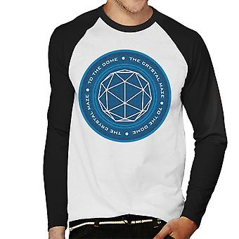 The Crystal Maze Logo Men's Baseball Long Sleeved T-Shirt