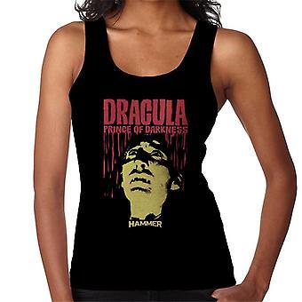 Hammer Dracula Prince of Darkness affisch Women ' s Vest