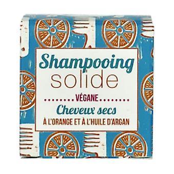 Solid shampoo for dry hair with orange 55 g (Orange)