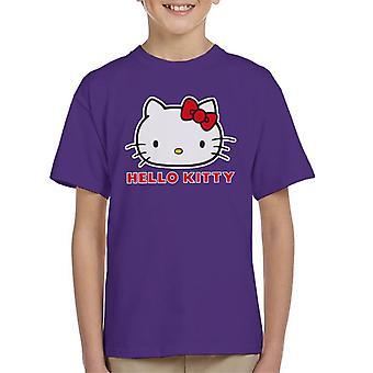 Hello Kitty Klassisk Positur Kid's T-skjorte