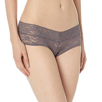 Marca - Mae Women's Galloon Lace Cheeky Panty, 3 Pack, Jet Black, Ivor...