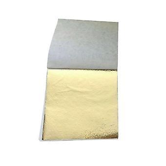 Art Craft Imitation Foil Papers Leaf 100 Sheets 8.5x9cm