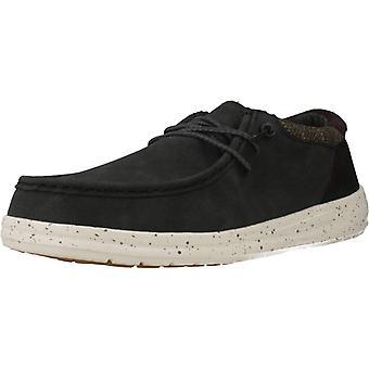Hey Dude Sport / Paul Color Black Sneakers