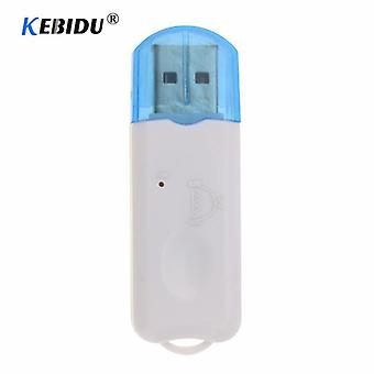 Usb Bluetooth Stereo Music Receiver Wireless Audio Adapter Dongle Kit