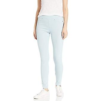 Essentials Women's Colored Skinny Pull-On Jegging, Sky, 8 Long