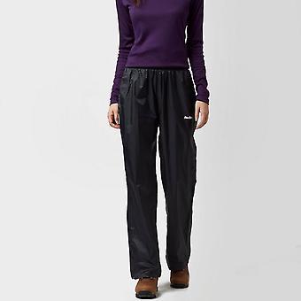 Peter Storm Women's Packable Pants  Walking Trousers Black