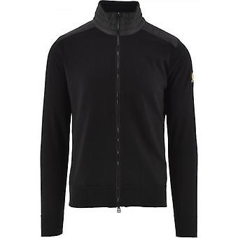 Belstaff Black Kelby Zip Sweatshirt