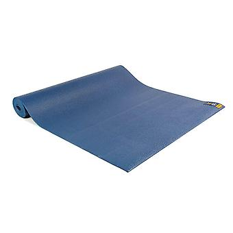 fitness mad warrior yoga ii mat 4mm dark blue for yoga and pilates