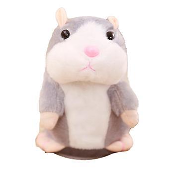 Kleine Hamster elektrische Plüsch Spielzeug - gehen Celebrity Stil Spielzeug sprechen