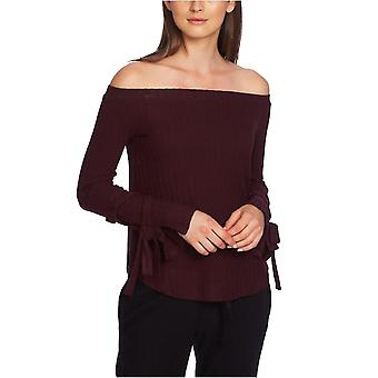 1.State | Cozy Off-the-Shoulder Tie-Sleeve Top