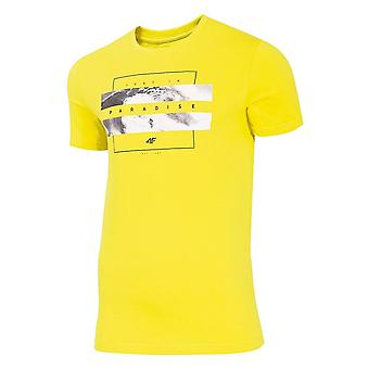 4F TSM035A H4L20TSM035A71S universel toute l'année hommes t-shirt