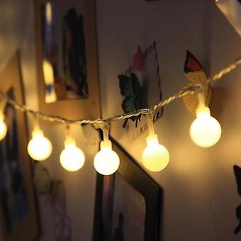 Fairy Garland Led Ball String Lights Wodoodporne na choinkę / ślub / dom